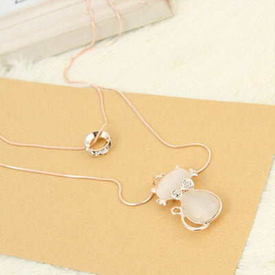 New Arrival Charm Cat Necklace