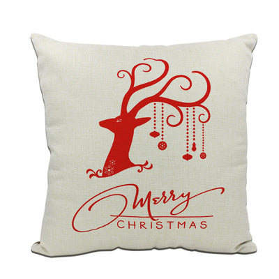 Christmas Decorations Pillows Cover