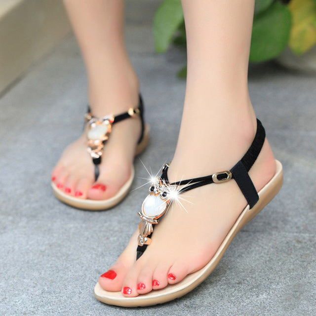 2020 Hot Summer Fashion  Women Sandals Owl