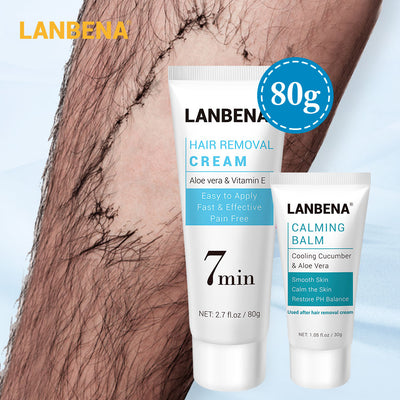 Hair Removal Cream Painless and  Calming Balm