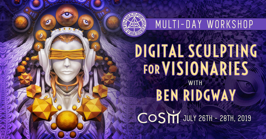 Workshop - Digital Sculpting for VIsionaries
