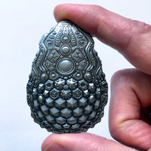 Load image into Gallery viewer, Egg Artifact Pin - Silver