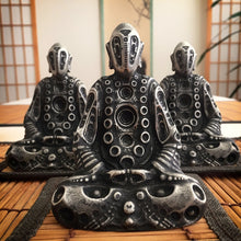 Load image into Gallery viewer, BUDDHA ELECTRIC MINI - Pewter Sculpture
