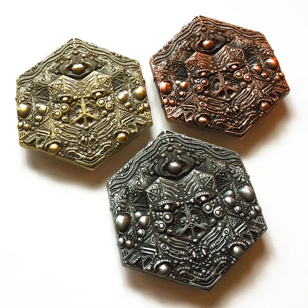 Hexagon Artifact Pin Set