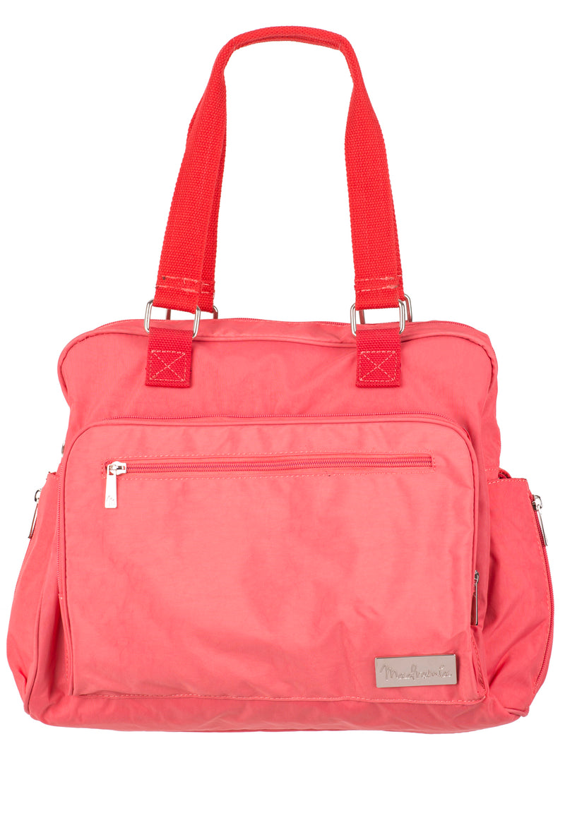 Bolso Maternal Paris Coral