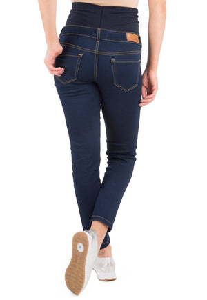 Jeans Maternal Pitillo Raw