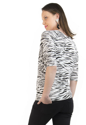 Polera Maternal y Lactancia Emilia Animal