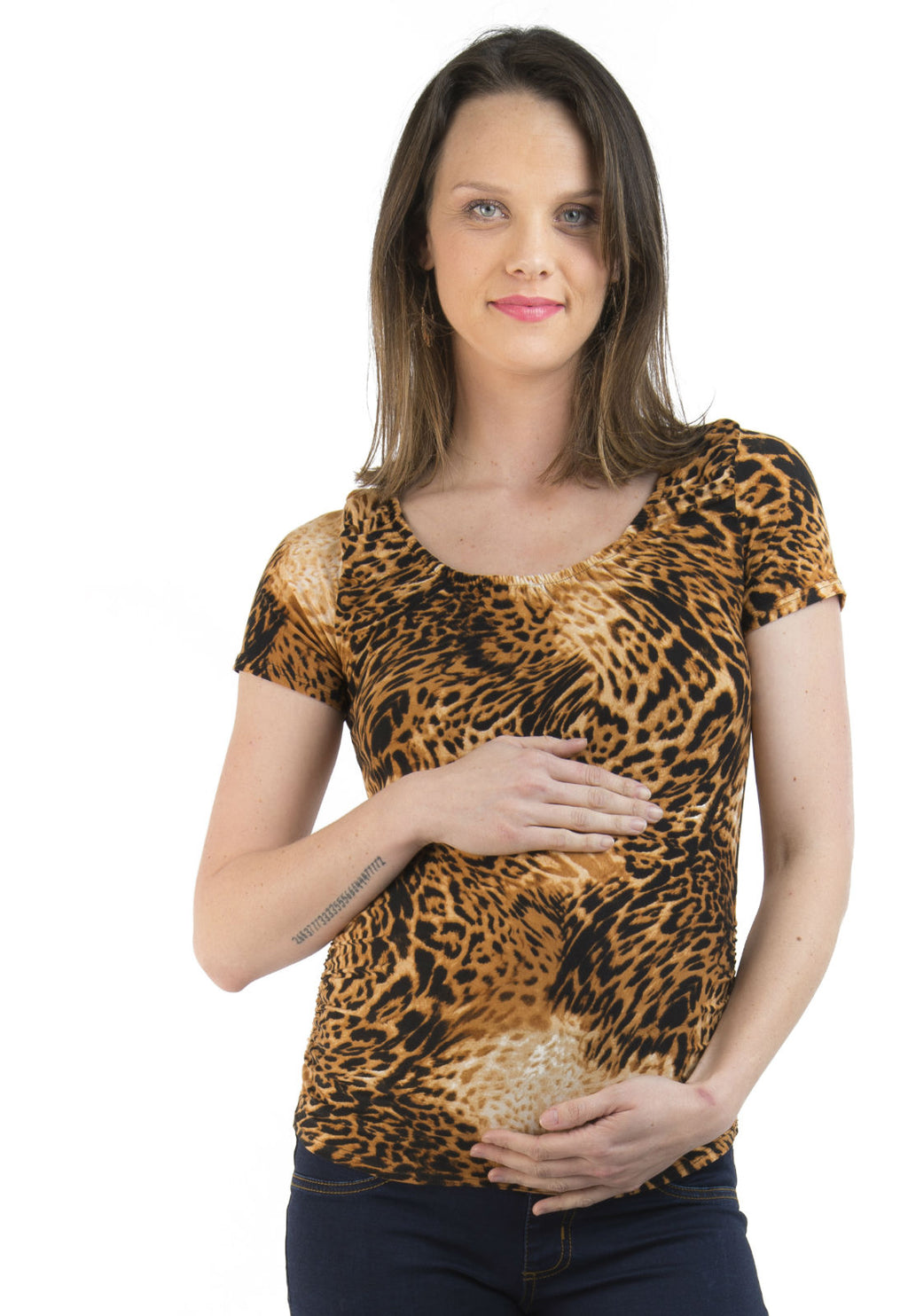 Polera Maternal y Lactancia Ines Animal