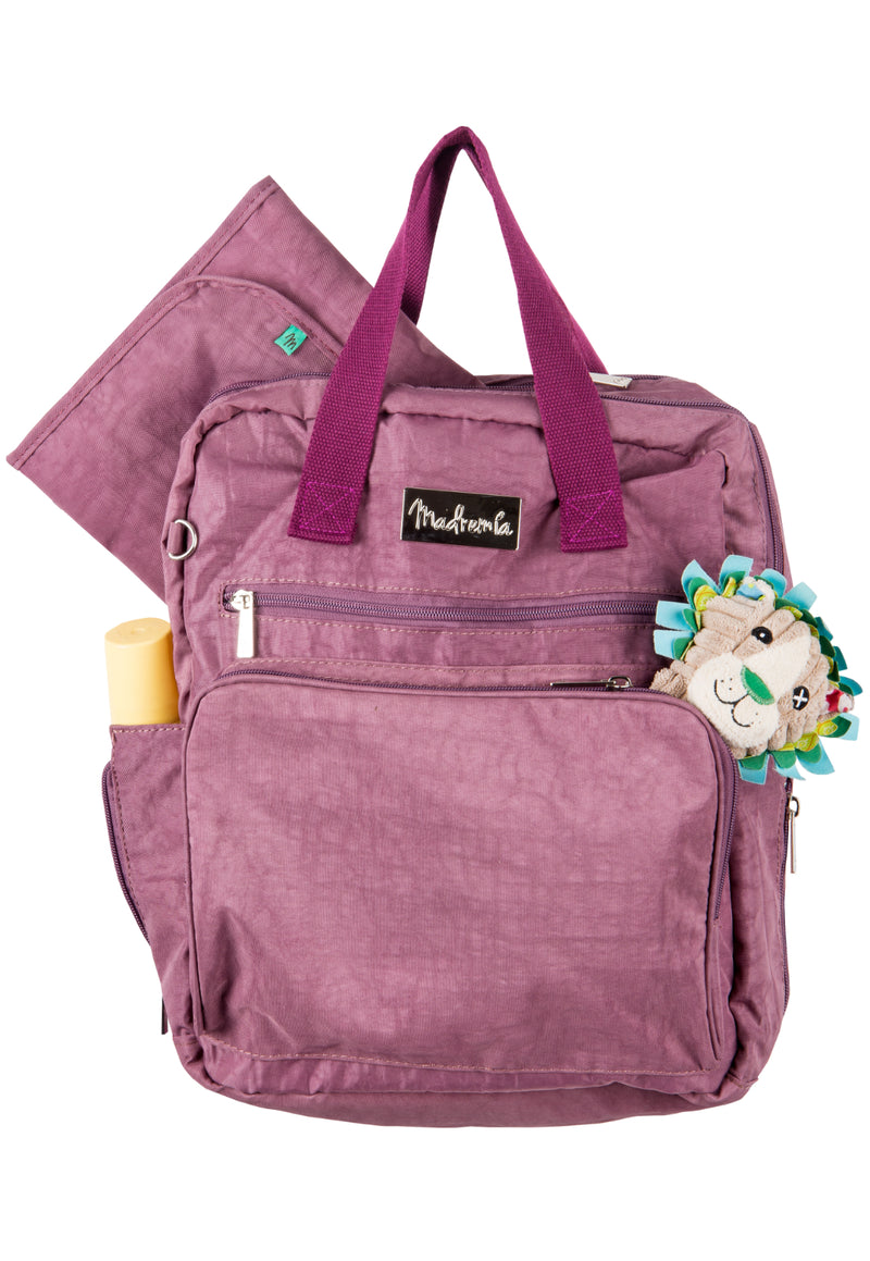 Mochila Maternal London Morado