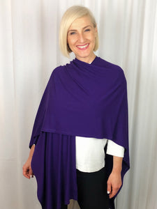 Our Bamboo Wrap is made from 95% Bamboo and 5% Elastane making it super light and silky soft. Whether you wear it as a shawl or as a scarf, this relaxed and versatile piece adds a touch of class to any outfit.