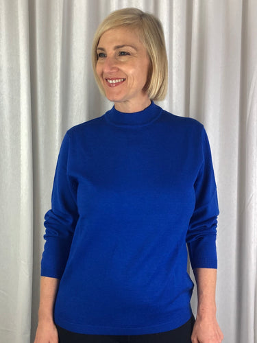 Slade Knitwear is an iconic Australian brand that has been designing and manufacturing quality women's knitwear for over 70 years. Made from Pure New Wool our Turtle Neck Pullover is a true classic. Available in nine colours, you can't go past Slade for winter knitwear.