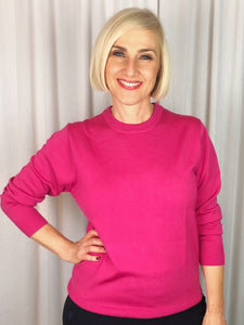 Slade Knitwear is an iconic Australian brand that has been designing and manufacturing quality women's knitwear for over 70 years. Made from Pure New Wool our Crew Neck Pullover is a true classic. Available in ten colours, you can't go past Slade for winter knitwear.