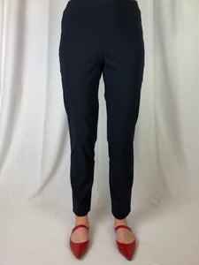 Made in Australia from Bengaline and Lycra, these pants have a tapering narrow leg and an elastic waistband for comfort. Fully washable, the fabric has lots of stretch giving you freedom to move so you can live life to the fullest.