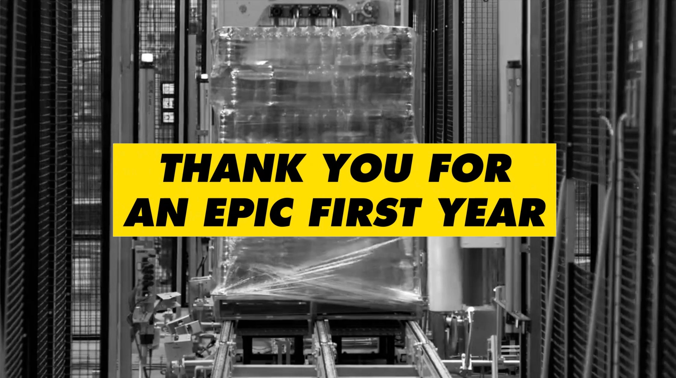 Thank You For an Epic First Year
