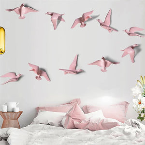 Flying Birds Set Of 5