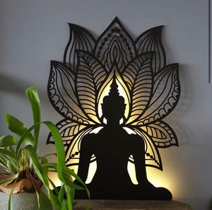 LED Buddha Wall Hanging