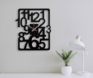 Scattered Clock 4 Feet