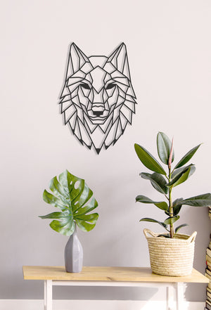 Wolf Head Wall Hanging