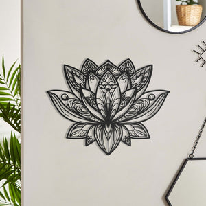 Mandala Lotus Wall Hanging