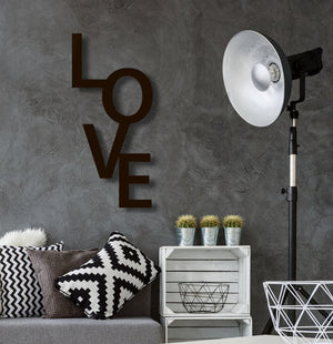 Love Vertical Wall Hanging