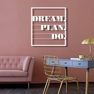 Dream Plan Do Wall Hanging