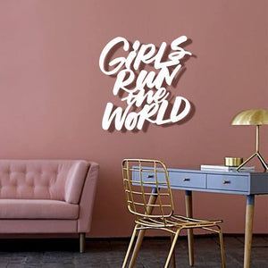 Girls Run The World Wall Hanging