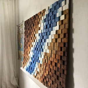 Abstract Wood Mosaic - EXP