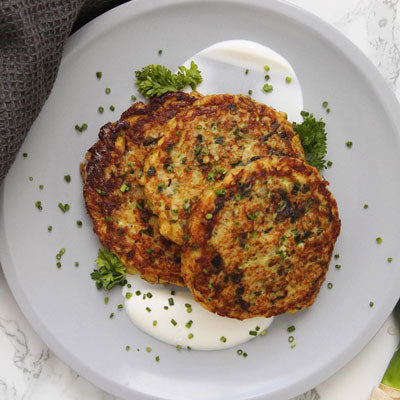 keto snacks recipes cauliflower latkes