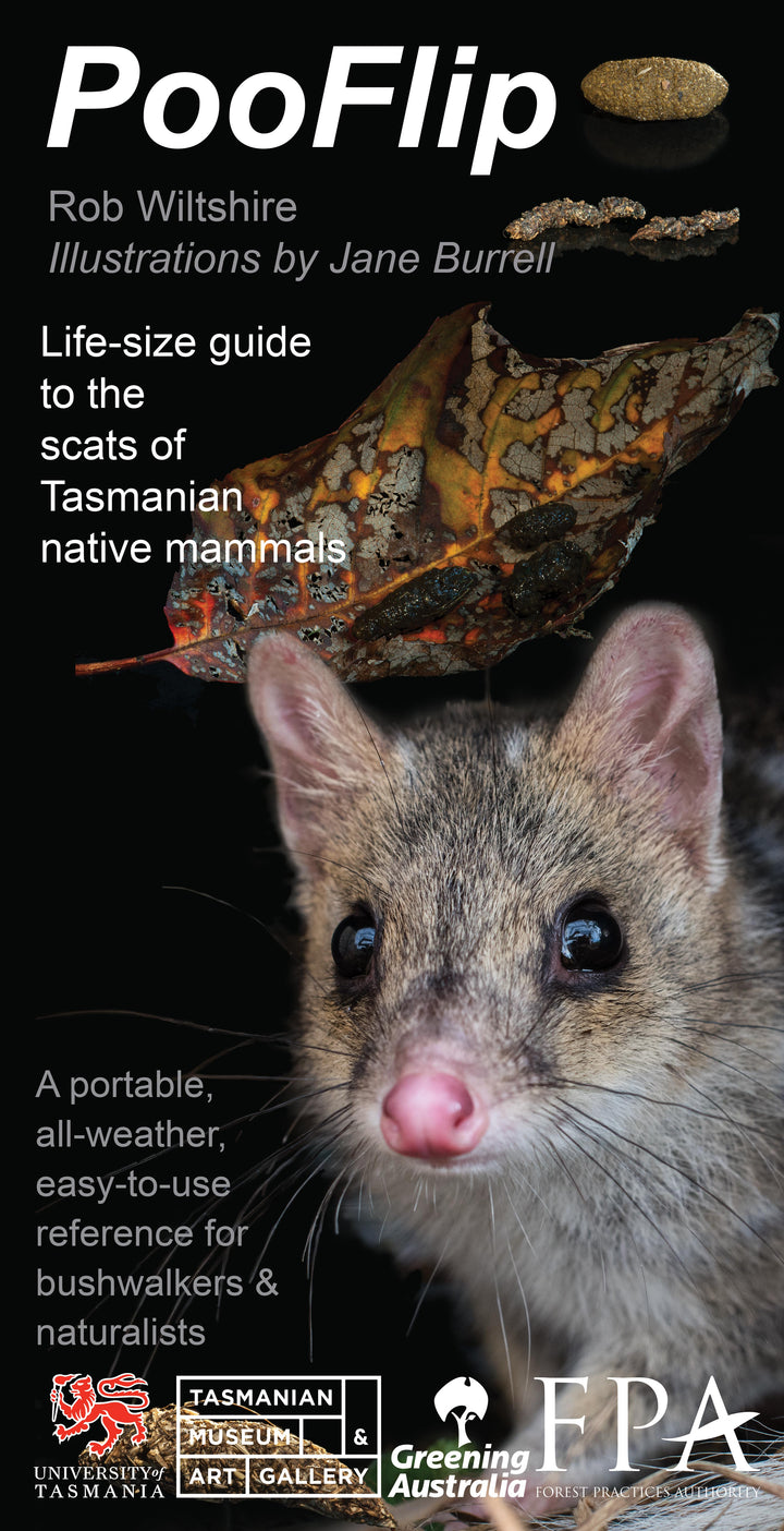 PooFlip: Life-Sized Guide to the Scats of Tasmanian Native Animals