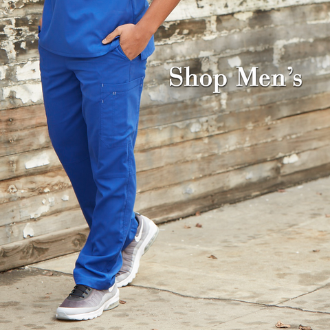 best scrub bottoms for men