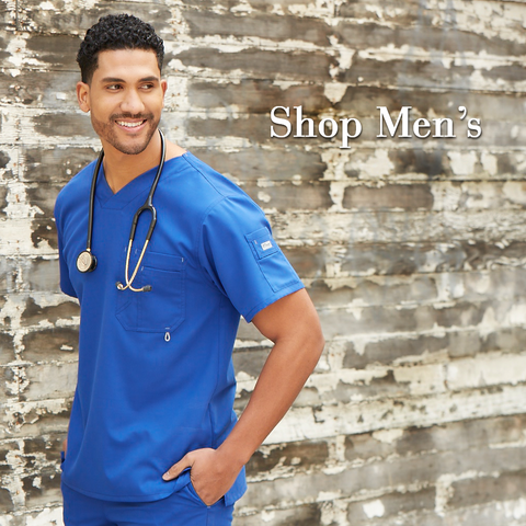 best scrub tops for men