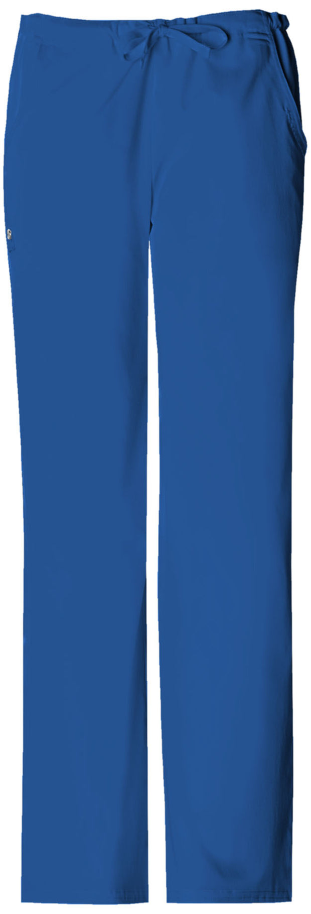 Cherokee Luxe Women's Low Rise Straight Leg Drawstring Pant - 1066P  Petite