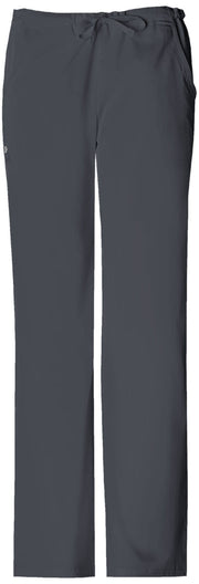 Cherokee Luxe Women's Low Rise Straight Leg Drawstring Pant - 1066T  Tall - ScrubHaven