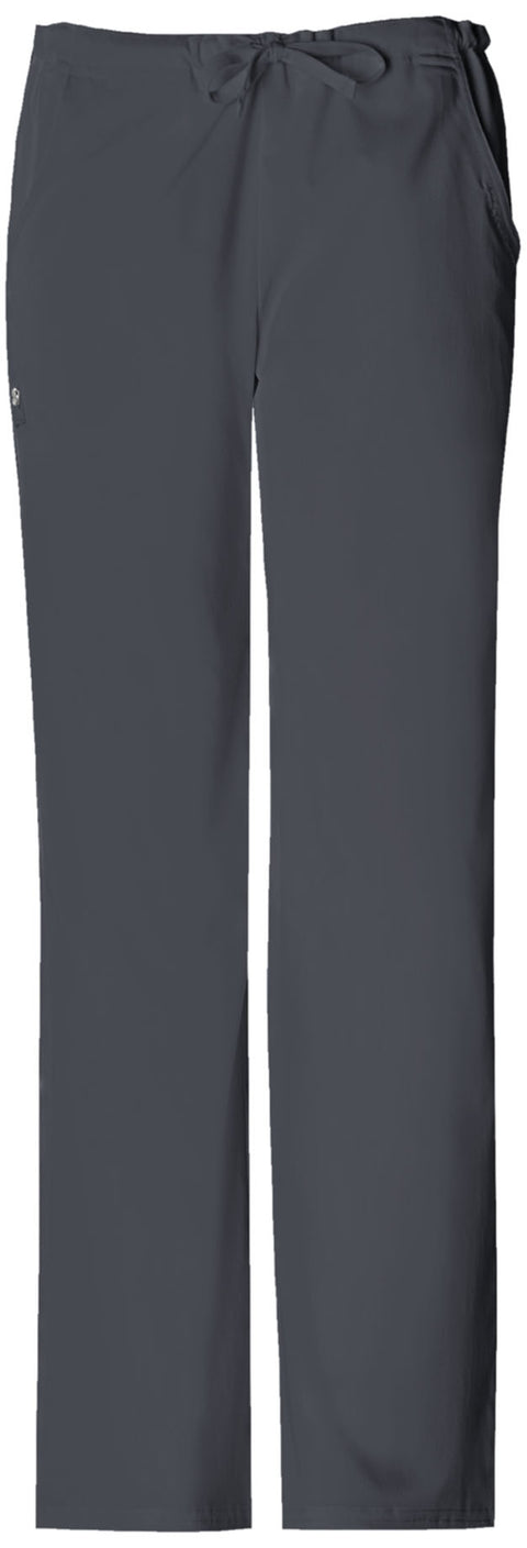 Cherokee Luxe Women's Low Rise Straight Leg Drawstring Pant - 1066T  Tall