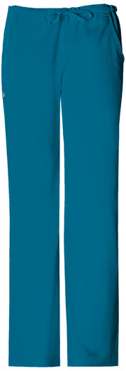 Cherokee Luxe Women's Low Rise Straight Leg Drawstring Pant - 1066