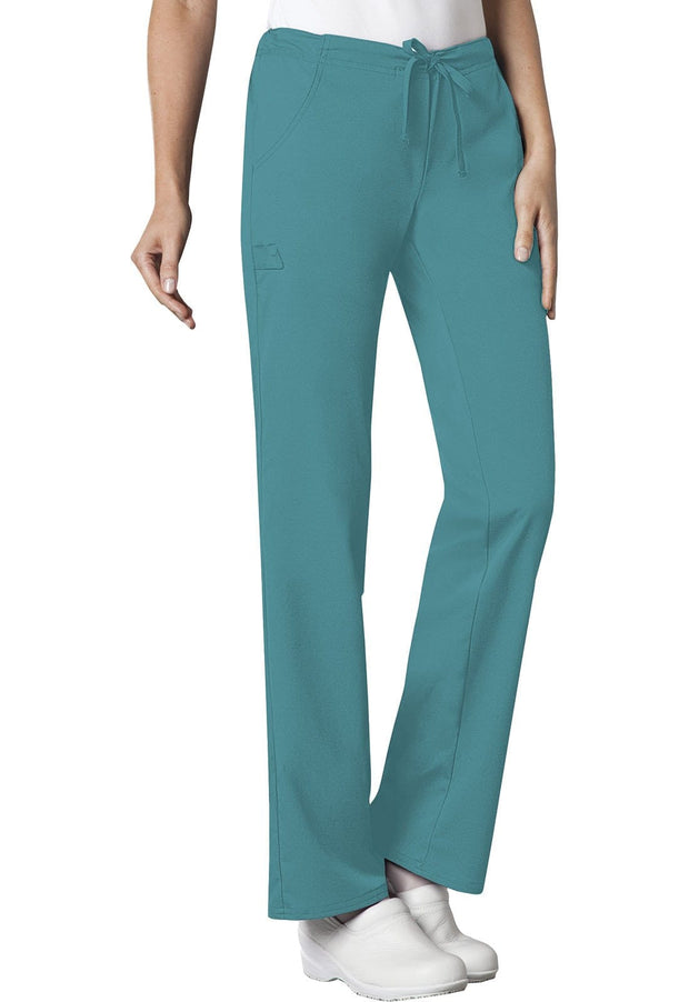 Cherokee Luxe Women's Low Rise Straight Leg Drawstring Pant - 1066 - ScrubHaven