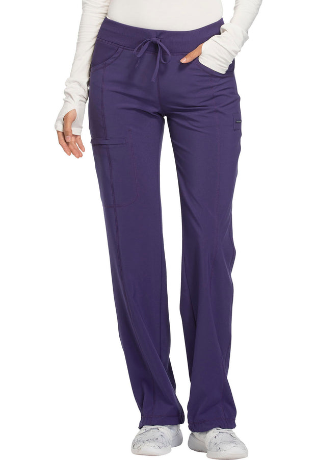 Cherokee Infinity Women's Low Rise Straight Leg Drawstring Pant - 1123AT  Tall