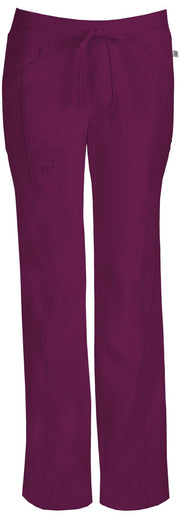 Cherokee Infinity Women's Low Rise Straight Leg Drawstring Pant - 1123AT  Tall - ScrubHaven
