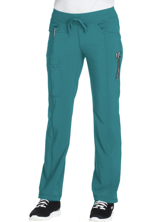 Cherokee Infinity Women's Low Rise Straight Leg Drawstring Pant - 1123A - ScrubHaven
