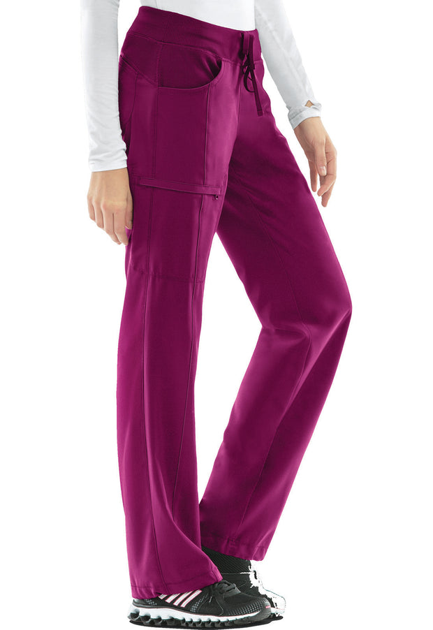 Cherokee Infinity Women's Low Rise Straight Leg Drawstring Pant - 1123A