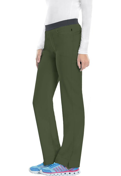 Cherokee Infinity Women's Low Rise Slim Pull-On Pant - 1124A