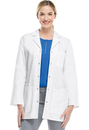 "Cherokee Professional Whites Women's 32"" Snap Front Lab Coat - 1369"