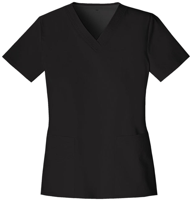 Cherokee Luxe Women's V-Neck Top - 1845 - ScrubHaven