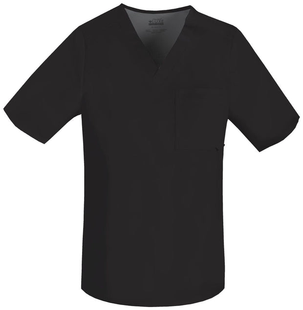 Cherokee Luxe Men's Men's V-Neck Top - 1929 - ScrubHaven