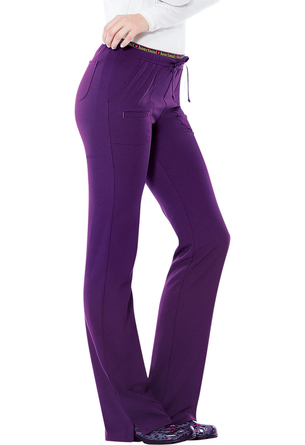 "20110P ""Heart Breaker"" Low Rise Drawstring Pant"