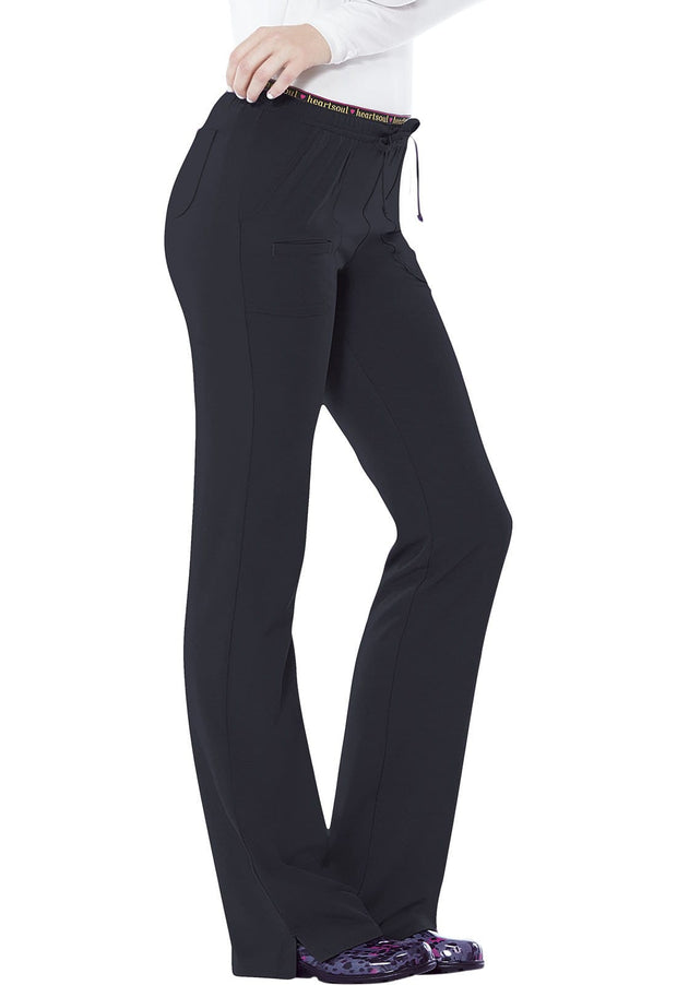 Heartsoul Break On Through Women's Low Rise Drawstring Pant - 20110T  Tall - ScrubHaven