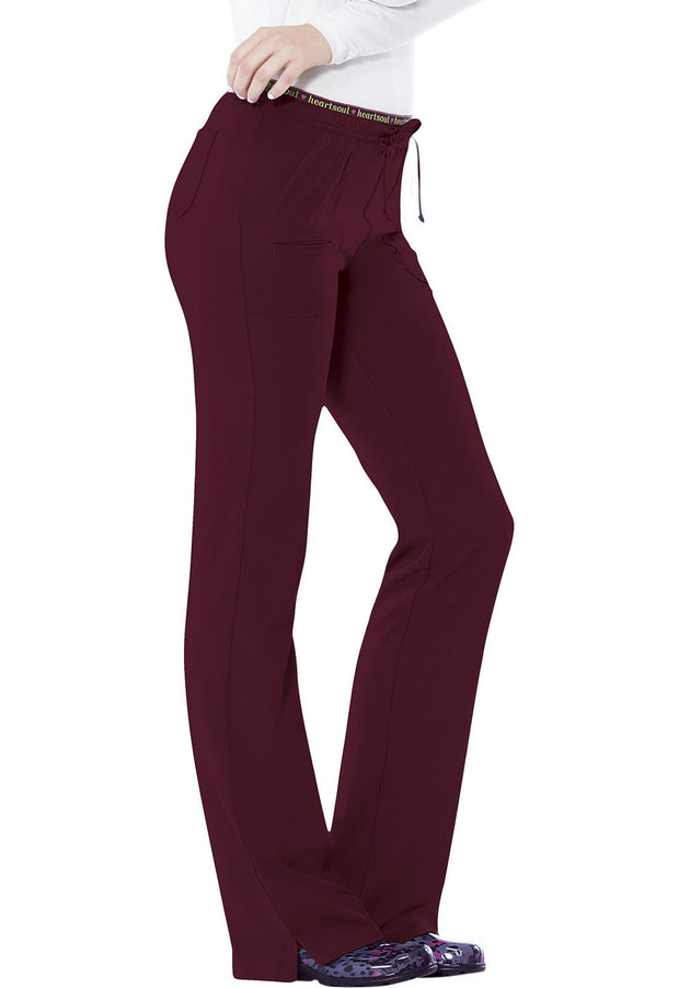 "20110T ""Heart Breaker"" Low Rise Drawstring Pant"