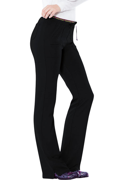 Heartsoul Break On Through Women's Low Rise Drawstring Pant - 20110 - ScrubHaven