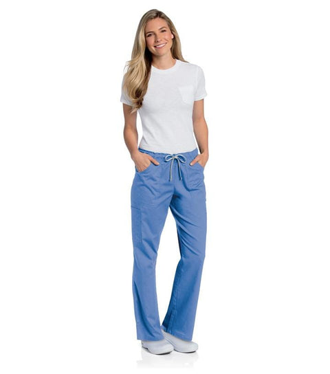 2035 WOMENS ALL DAY FULL ELASTIC CARGO PANT - ScrubHaven