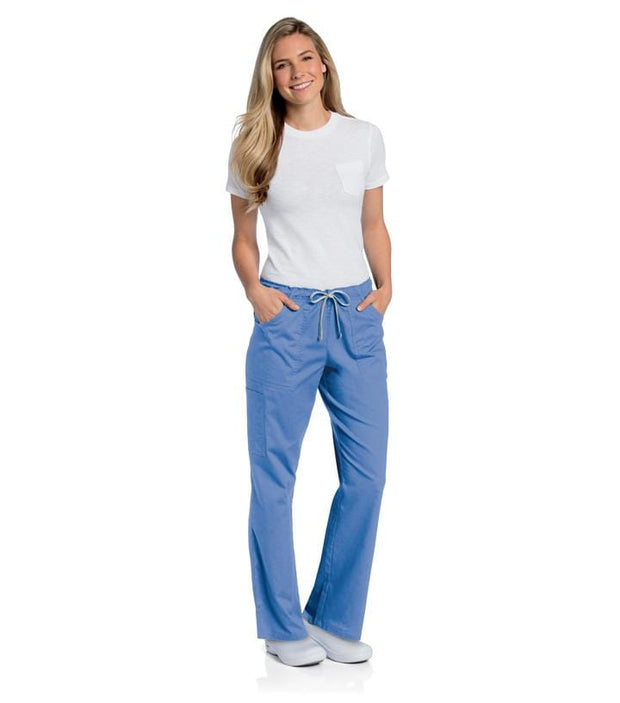 2035<br> WOMENS ALL DAY FULL ELASTIC CARGO PANT